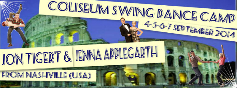 Swing'o'Roma Dance Camp  4 – 5 – 6 – 7 settembre